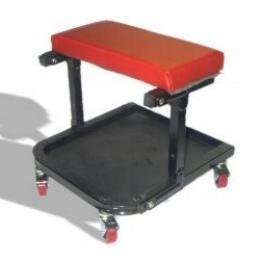 Show details of Mechanic Foldable Roller Seat w/ Tool Tray.