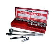 "Show details of 21 PC 3/4"" SOCKET SET METAL."