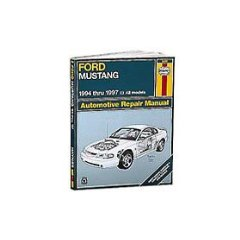 Show details of Haynes Repair Manual for 1994 - 2000 Ford Mustang (Paperback).