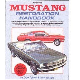 Show details of HP Books Repair Manual for 1964 - 1967 Ford Mustang.