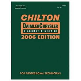 Show details of Chilton 2006 DaimlerChrysler Diagnostic Service Manual, 1990-2005.