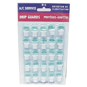 Show details of Cliplight Inc. 96625 R12 Drip Guards (25 pack).