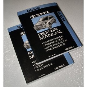 Show details of 2003 Toyota RAV4 Repair Manuals.