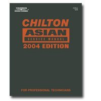 Show details of Chiltons Book Company (CHN24235) Asian Service 2000-2004 Manual.