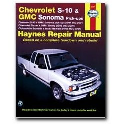 Show details of Haynes Chevrolet S-10 and GMC Sonoma Pick-ups (94 - 04) Manual.