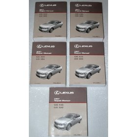 Show details of 2007 Lexus GS430 GS350 Repair Manuals.