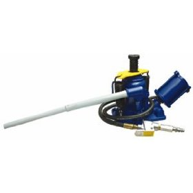 Show details of 20 Ton Low Profile Air/Manual Bottle Jack.