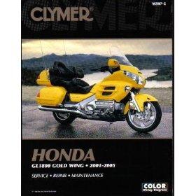 Show details of MANUAL CLYMER GL1800 M5072.