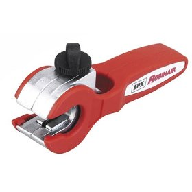 "Show details of Robinair 42071 Ratcheting Tubing Cutter for Cutting 1/8"""" - 1/2"""" Tubing""."