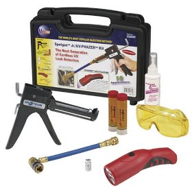 Show details of UVIEW 332000 Spotgun Jr./UV-Phazer Cordless LED Light A/C Leak Detection Kit.