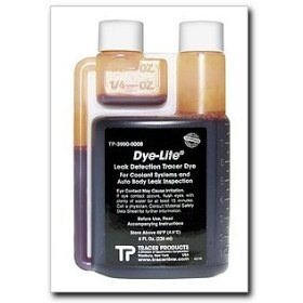 Show details of Tracerline Dye-Lite Coolant/Auto Body Dye, 8 oz..