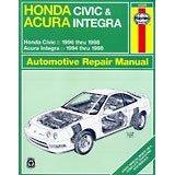 Show details of Haynes Repair Manual for 1994 - 2000 Acura Integra (Paperback).