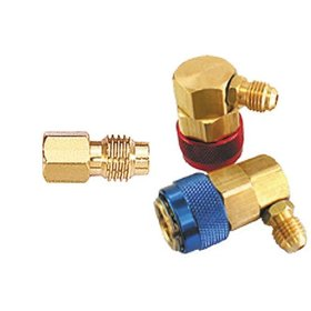 Show details of Mountain 8201 R-12 to R-134a Conversion Quick Connect Coupler Set.