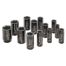 Show details of Ingersoll Rand SK4H13L 1/2-Inch Drive 13-Piece SAE Deep Impact Socket Set.