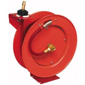 "Show details of Lincoln Lubrication 83754 Air Reel - 50"" x 1/2""."