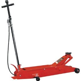 Show details of Torin Long Frame Air/Hydraulic Floor Jack - 10-Ton, Model# TR8106AQ.