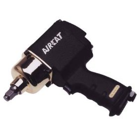 Show details of AirCat Air Impact Wrench - 1/2in. Drive, 4 CFM, 7000 RPM, 640ft.-Lbs. Torque, Model# 1404BG.