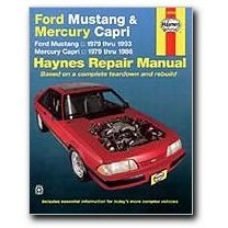 Show details of Haynes Ford Mustang and Mercury Capri (79 - 93) Manual.