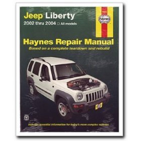 Show details of Haynes 50035 Jeep Liberty Repair Manual, 2002-2004.