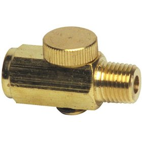 Show details of Mountain 6103 Brass Air Regulator.