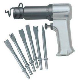 Show details of Ingersoll-Rand Super Duty Air Hammer Kit w/6 Chisels.