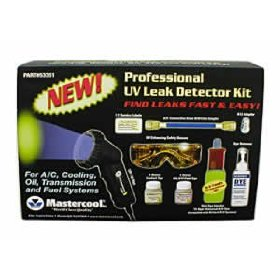 Show details of Professional UV Leak Detector Kit with 50W.