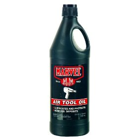 Show details of Marvel MM085 Air Tool Oil 32 oz..