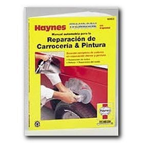 Show details of Haynes Reparacin de Carroceria and Pintura Spanish Repair Manual.