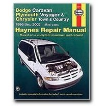 Show details of Haynes Dodge Caravan Plymouth Voyager and Chrysler Town and Country Mini-vans (96 - 02) Manual (Paperback).