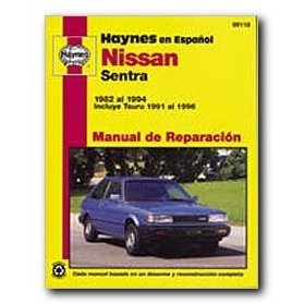 Show details of Haynes Nissan Sentra (82 - 94) Spanish Repair Manual.