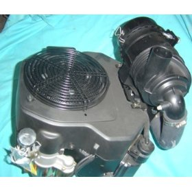 "Show details of Kohler Engine<br>23hp Command OHV, Twin, VER 1-1/8""x 4"" Shaft, ES, 15 Amp Alt, Oil Cooler, Snorkle Air, Oil Cooler."