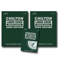 Show details of Chilton 2006 Labor Guide Manual Set.