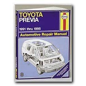 Show details of Haynes Toyota Previa (91 - 95) Repair Manual.
