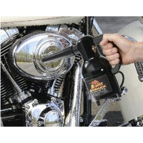 Show details of Motorcycle Dryer Sidekick Blaster for Harley or Metric Bikes.