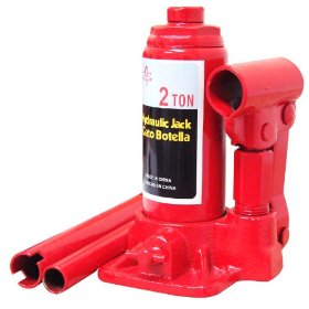 Show details of 2 Ton Hydraulic Bottle Jack - ProForge.