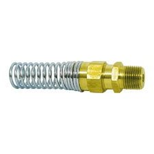 "Show details of Imperial 90616 Hose END Hose Connector with Spring Guard 1/2""x3/8"" (Pack of 5)."