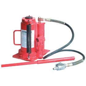 Show details of Speedway Series 12 Ton Heavy Duty Hydraulic Air Bottle Jack.