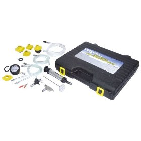 Show details of Mityvac MV4525 Coolant System Test, Diagnostic and Refill Kit.