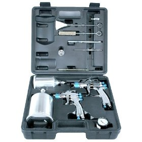 Show details of 802342 - StartingLine HVLP Gravity Spray Gun Kit.