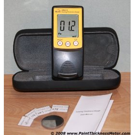 Show details of Automotive Paint Thickness Meter Gauge Gage for Body Shops and used Car Dealers.