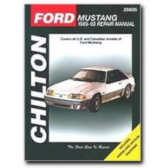 Show details of Chilton Ford Mustang (89 - 93) Manual (Paperback).