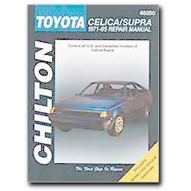 Show details of Chilton Toyota Celica/Supra (71 - 85) Manual.