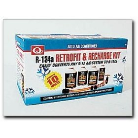 Show details of EF Products R-134a Retrofit and Recharge Kit.