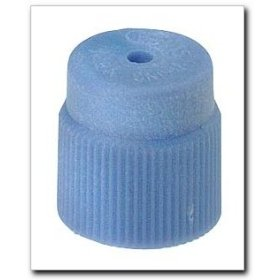 Show details of FJC R134a Service Port Cap Light Blue.