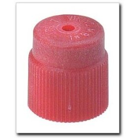 Show details of FJC R134a Service Port Cap Red.