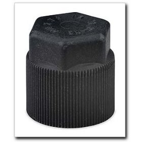 Show details of FJC R134a Service Port Cap Black.