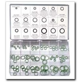 Show details of FJC Air Conditioning O-Ring Assortment - 180 Piece.