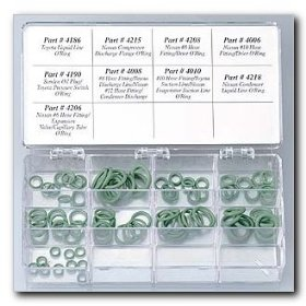 Show details of FJC Metric O-Ring Assortment - 90 pieces.