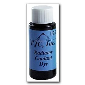 Show details of FJC Radiator Coolant Dye 1oz..