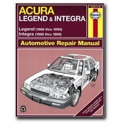 Show details of Haynes Acura Integra and Legend (86 - 90) Manual.